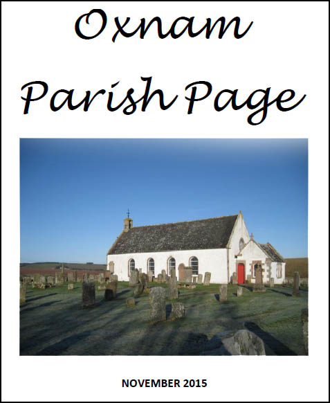 Oxnam Parish Page